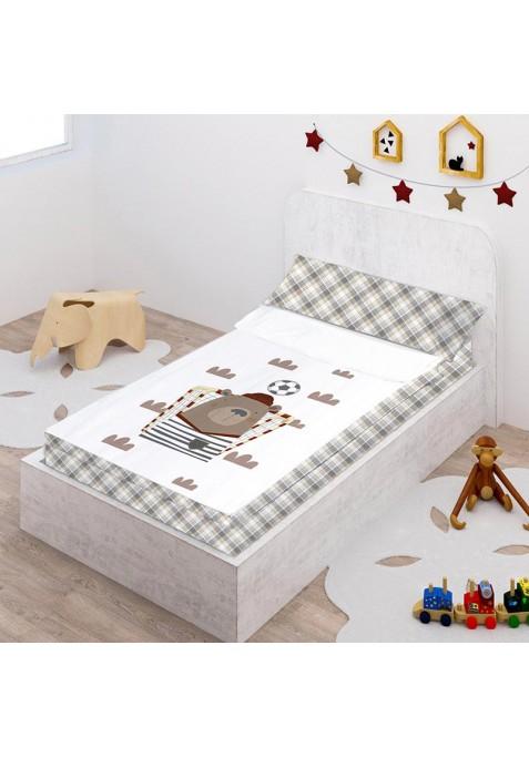 Prêt à Dormir Zippé et Extensible Coton DESSIN PLACÉ - SOCCER