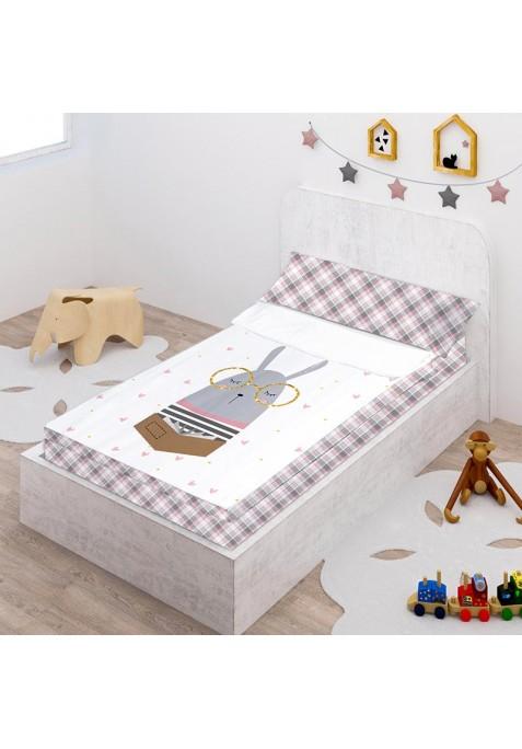 Prêt à Dormir Zippé et Extensible Coton DESSIN PLACÉ - HARRIET
