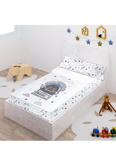 Prêt à Dormir Zippé et Extensible Coton DESSIN PLACÉ - NEIL