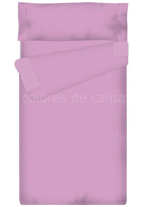 Prêt à dormir - Sac Nordique - Zippé et Extensible - UNI mauve - Taille: 80 x 160 cm - Sans Couette