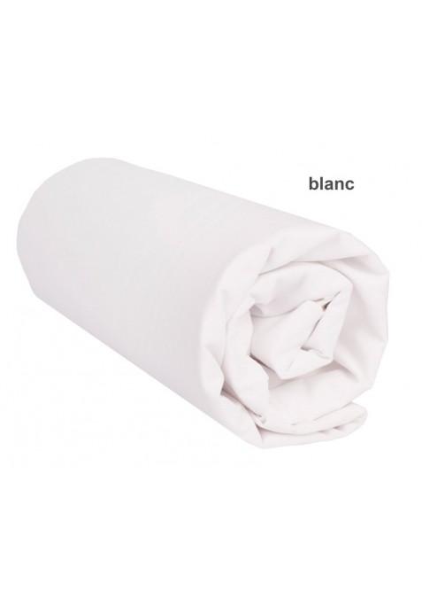 Drap Housse BLANC UNI