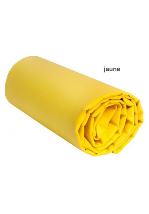 Drap Housse JAUNE UNI
