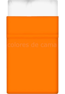 Drap Plat ORANGE UNI