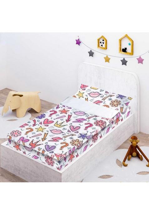 Prêt à Dormir Enfant Zippé QUEEN