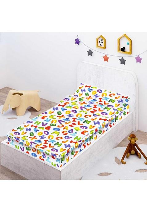 Prêt à Dormir Enfant Zippé LETTERS