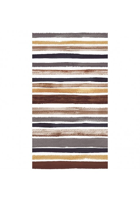 Taie D' Oreiller TRACED BROWN - 60 x 60 cm