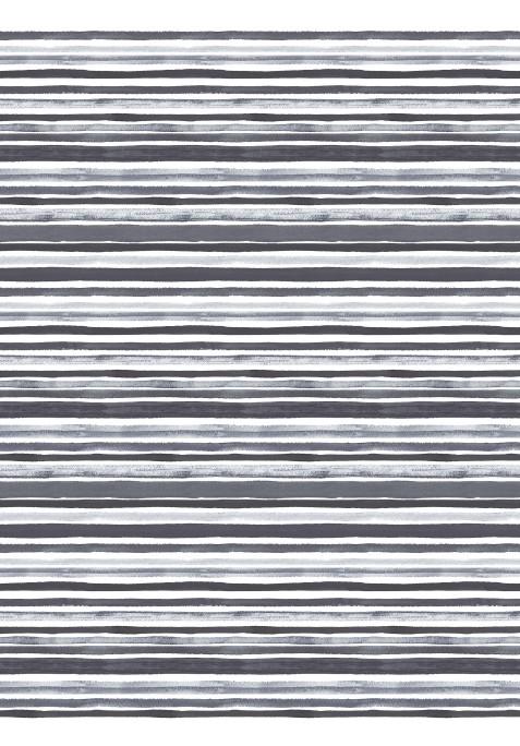 Taie D'oreiller Avec Rabat Intérieur TRACED GREY - 40 x 60 cm
