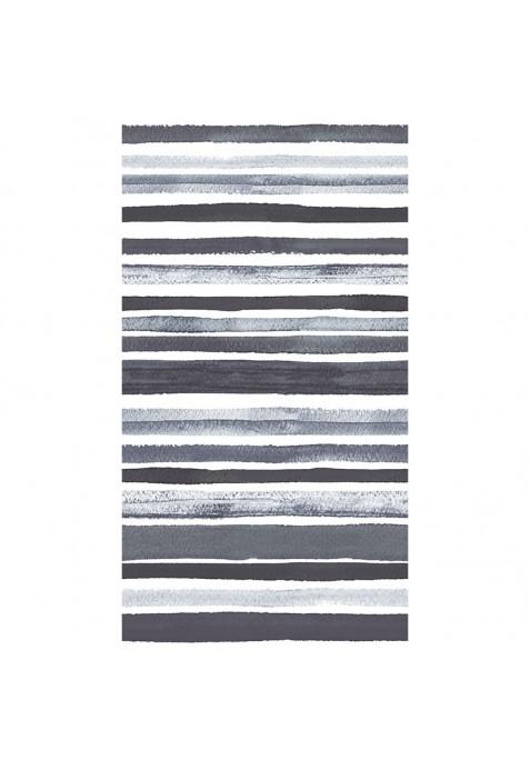 Taie D' Oreiller TRACED GREY - 65 x 65 cm