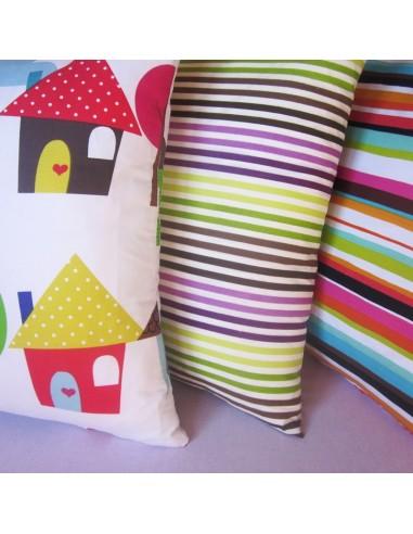 drap housse avec fermeture glissi re pour caradous imprim s. Black Bedroom Furniture Sets. Home Design Ideas