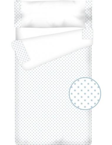 Prêt à dormir Zippé et Extensible Coton et Piqué – ESTRELLAS bleu