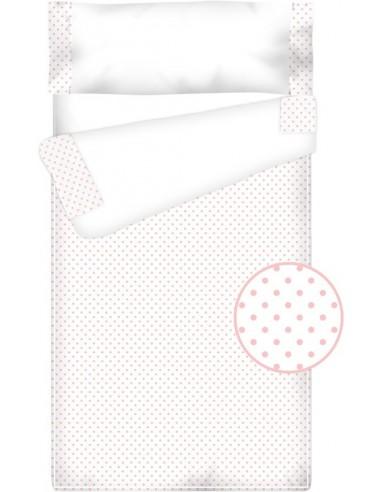 Prêt à dormir Zippé et Extensible Coton et Piqué – TOPOS rose