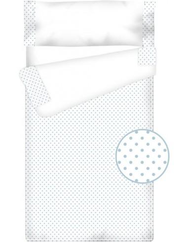 Prêt à dormir Zippé et Extensible Coton et Piqué – TOPOS bleu