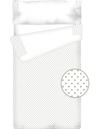 Prêt à dormir Zippé et Extensible Coton et Piqué – TOPOS gris
