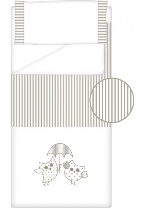 Prêt à Dormir Zippé Non-Extensible Coton et Piqué – Dpkes LOVERS gris