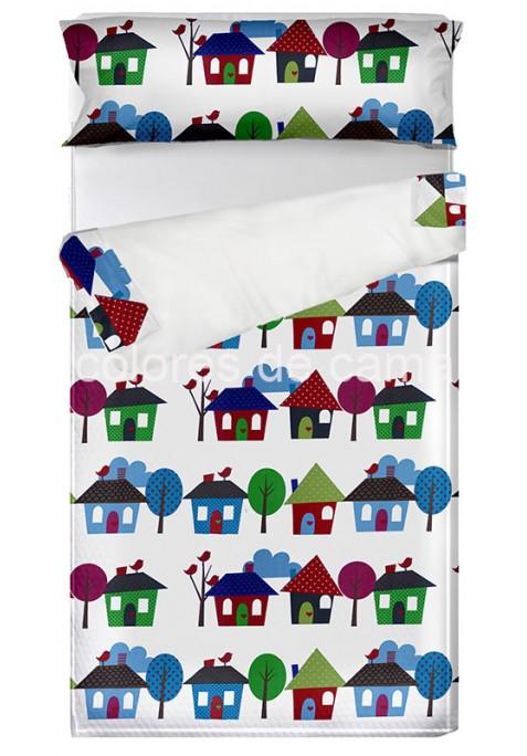 """""""Prêt à dormir"""" extensible et zippé - LITTLE HOME blanc"""