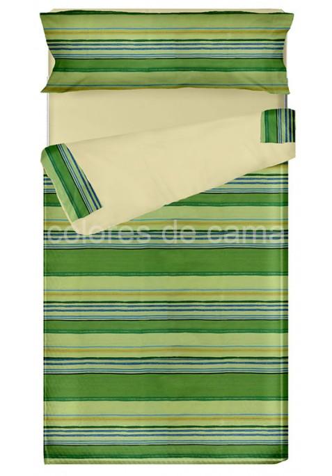"""""""Prêt à dormir"""" extensible et zippé - LOLA vert"""
