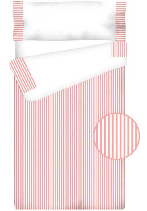 Prêt à Dormir Enfant Zippé Coton – VICHY RAYURE rose