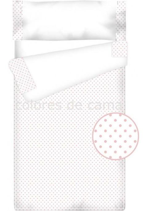 Prêt à Dormir Enfant Zippé Coton et Piqué – TOPOS rose