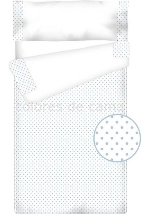 Prêt à Dormir Enfant Zippé Coton et Piqué – TOPOS bleu