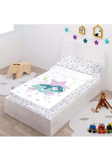 Prêt à Dormir Zippé et Extensible Coton DESSIN PLACÉ - DREAMING